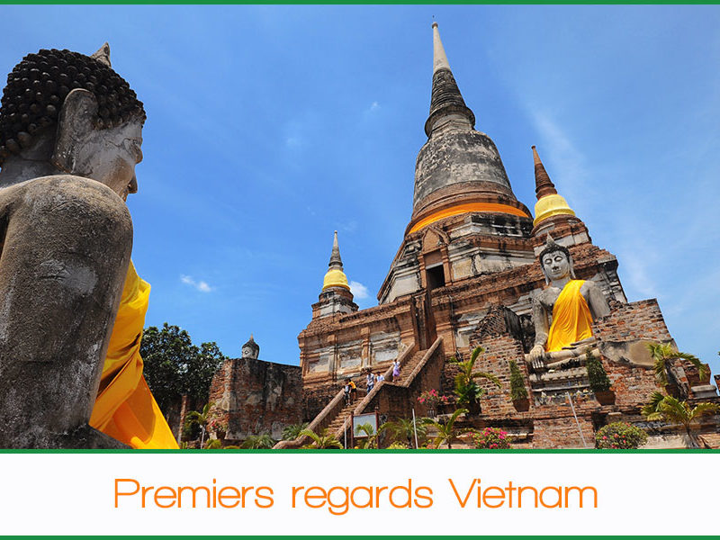 Premiers regards Vietnam